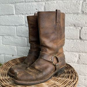 Frye   Harness Leather Boots